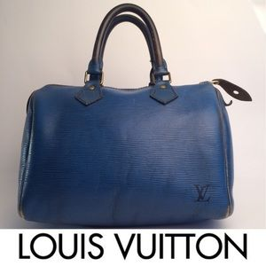 Louis Vuitton Epi Speedy 30